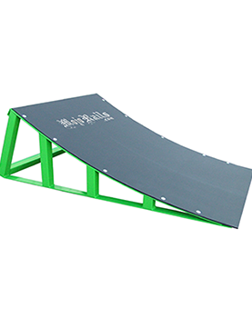Mojo Sky Ramp w/ Grey Poly Carbonate – 30×43 – Green